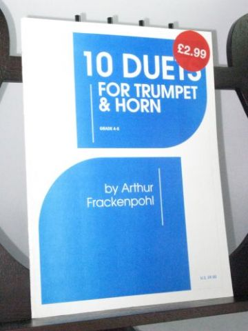 Frackenpohl A - 10 Duets for Trumpet and Horn
